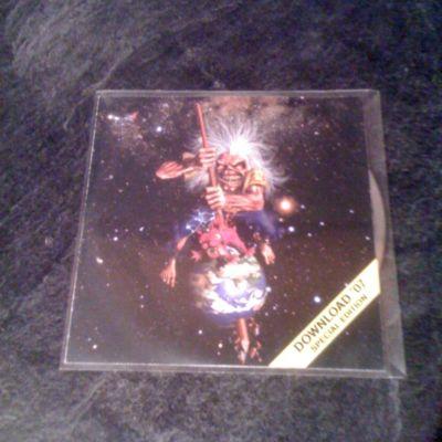 Iron Maiden The Pilgrim Promo Cd Mega Rare